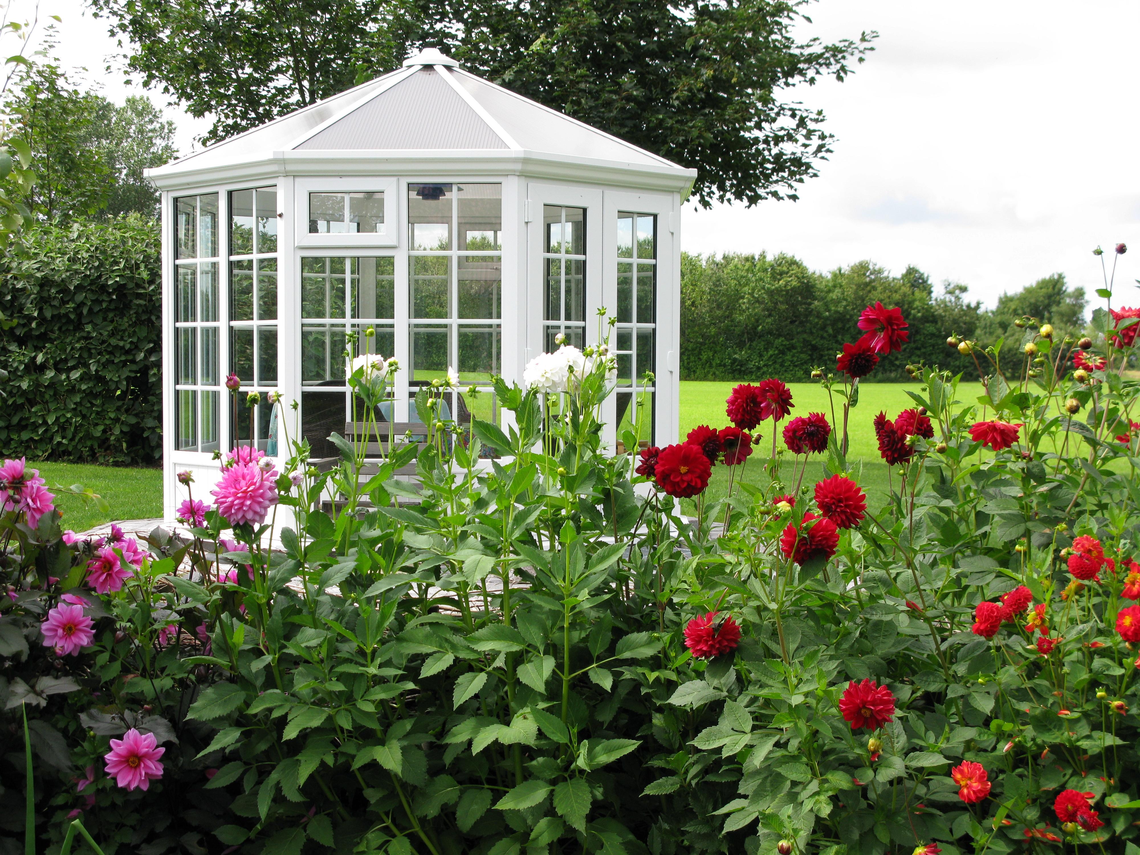 Pavillon Véranda exposition : Serre de jardin en ligne - Matovert
